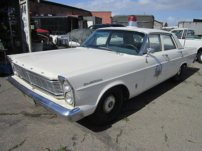 1965 Ford Galaxie STANDARD 1965 FORD CUSTOM MOVIE POLICE CAR GALAXIE