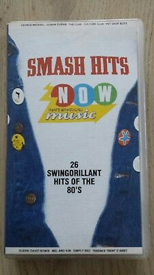 Smash Hits - Now Thats What I Call Music Very Rare Vhs Video 80's Freepost