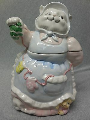 Mama Cat & Kittens with Mittens Cookie Jar j925
