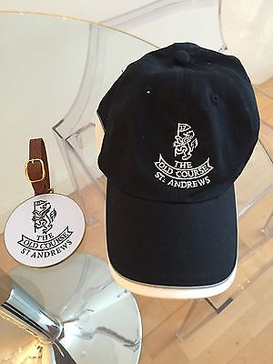 ST ANDREWS OLD COURSE PRO SHOP-  Golf Cap & Metal Bag Tag