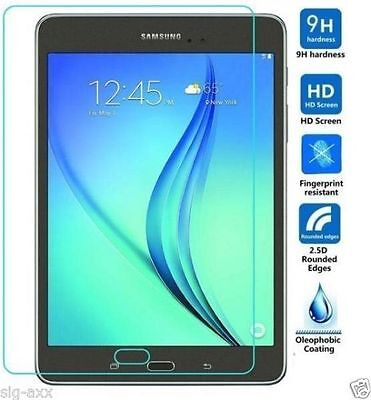 """Genuine Tempered Glass Screen Protector For Samsung Galaxy Tab A 7"""" SM-T280 T285"""