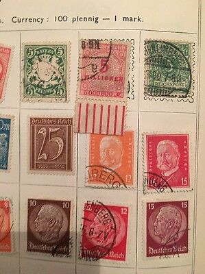 Worldwide Stamps Close Up Photos