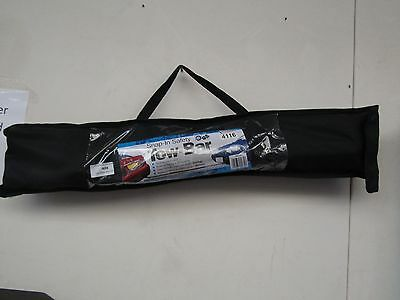 Snap In Safety Tow - Bar in carry bag,