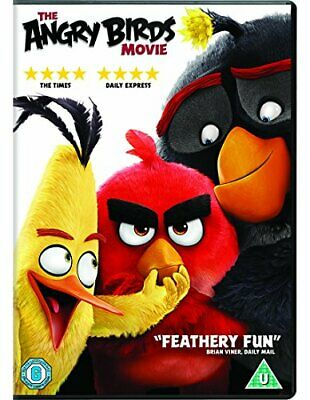 The Angry Birds Movie [DVD] [2016] - DVD  E2VG The Cheap Fast Free Post