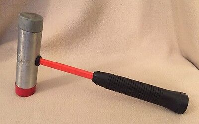 Vintage Armstrong 153H Metal Rubber Plastic 16 oz Mallet Hammer Auto Body USA
