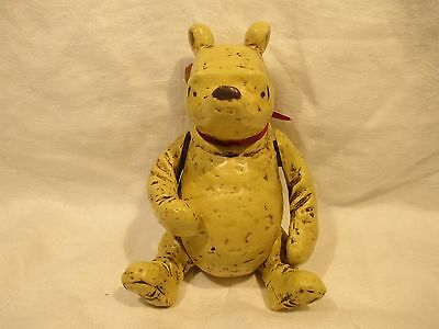Vintage WINNIE THE POOH Articulated Jointed FIGURE CHARPENTE WALT DISNEY