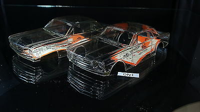 Mustang Coupe 2 Pack 1/24 Vintage New Slot Car Bodies Mfg By Du-Bro Dn1