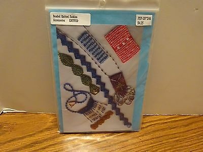 New FIBERSPACE Bead Knitted Pattern - 7 Patterns for Necklaces/Bracelets