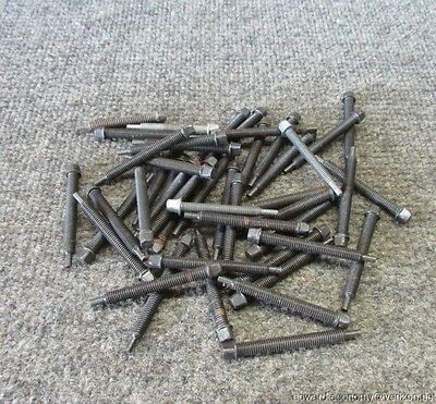 (6)  Pre War Chain Adjust Tension Bicycle  Screws New Old Stock