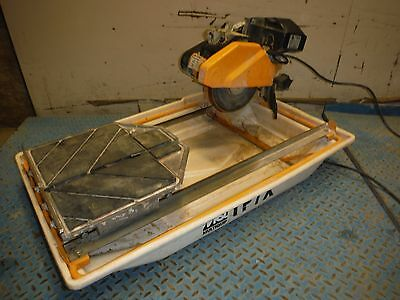 "Used Multiquip Tp7X Electric 7"" 10 Amp Compact Wet Tile Saw!"
