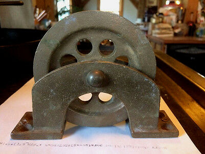 4 3/4 Inch Brass Single Deck Pulley Block Boat Ship Bronze Tackle