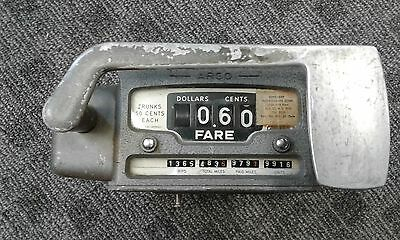 Vintage ARGO Taxi Cab Fare Flag Meter Made in W. Germany