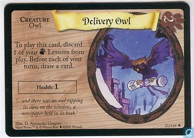 Harry Potter TCG Base Set Delivery Owl 21/116