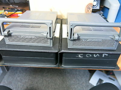 Pair Alesis HD24 Digital Recording Interface Removable HDD Caddy w/ 80 GB HDD's