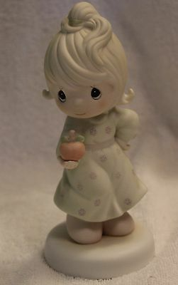Precious Moments Yield Not to Temptation figurine 1989 flame mark 521310