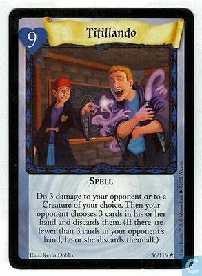 Harry Potter TCG Base Set Titillando  36/116