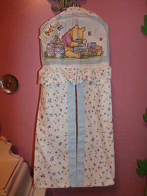 New 1998 Disney Classic Pooh Diaper Stacker Holder by Red Calliope