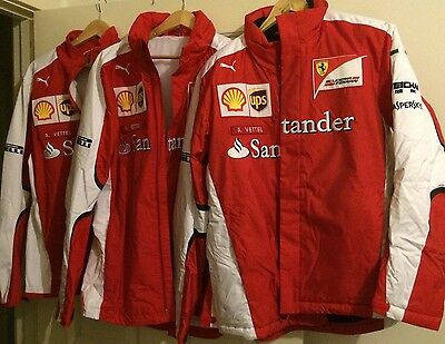 Ferrari Sebastian Vettel 2015 Genuine Jacket set