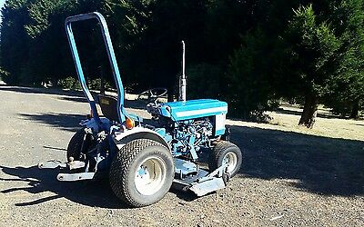 Ford 1210 Tractor 4x4 Diesel with underdeck Mower