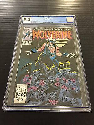 Wolverine 1 Cgc 9.8  1St Wolverine As Patch