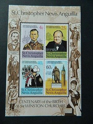 1707 St Kitts Nevis 293A 194-5 354 Ss Mint Og Never Hinged 4 Pictures