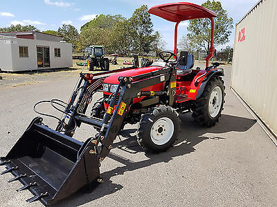 New 35hp Tractor with Front In Loader 4 in 1 Bucket - Lovol from AgKing