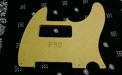 Telecaster P90 Pickguard Routing Template 1795 Picclick