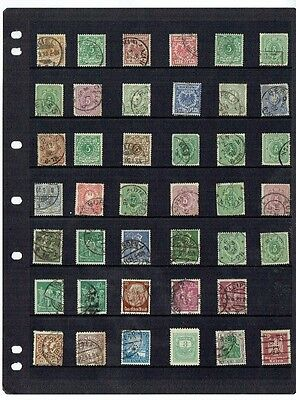 Stamps Deutiches reich germany early collection