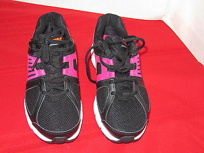 New Women's Pink Black Nike 543165-004 Downshifter 5 Running Shoes Size 6.5