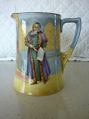 Royal Doulton Shakespeare Series 'Shylock' 14.5cm Jug with Pouring Lip