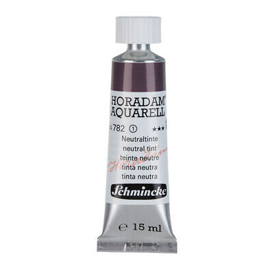 (48,93€/100ml) Schmincke 15ml HORADAM Aquarell Neutraltinte Aquarell  14 782 006