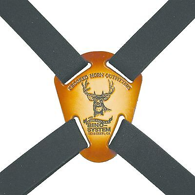 Crooked Horn BS-125 Bino System Binocular Harness, Quick Release
