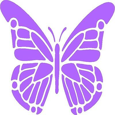 30 Custom Classic Purple Butterfly Personalized Address Labels