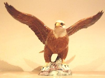 "BESWICK BALD EAGLE  ISSUED 1945-1995 HEIGHT 7-1/4"" MODEL No1018"