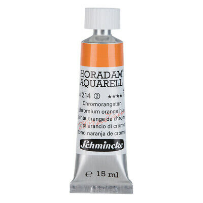 (55,93€/100ml) Schmincke 15ml HORADAM Aquarell Chromorange, bleifrei Aquarell  1