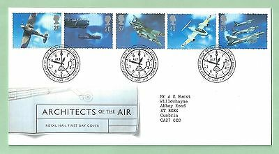 GB Royal Mail First Day Cover FDC 1997 Architects of the Air Edinburgh SHS