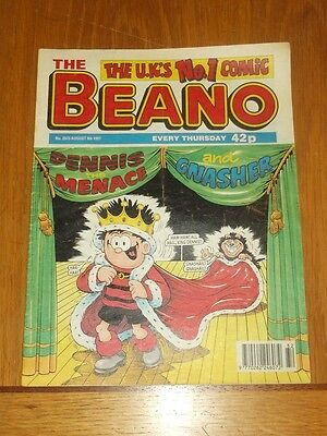 Beano #2873 9Th August 1997 British Weekly