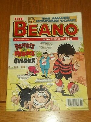 Beano #2886 8Th November 1997 British Weekly