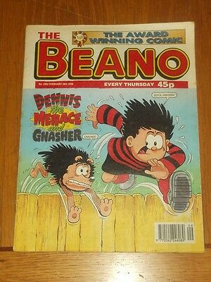 Beano #2902 28Th February 1998 British Weekly