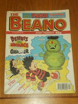 Beano #2910 25Th April 1998 British Weekly