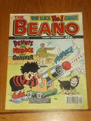 Beano #2927 22Nd August 1998 British Weekly