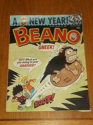Beano #2946 2Nd January 1999 British Weekly