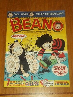 Beano #2953 20Th February 1999 British Weekly