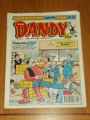 Dandy #2920 8Th November 1997 British Weekly