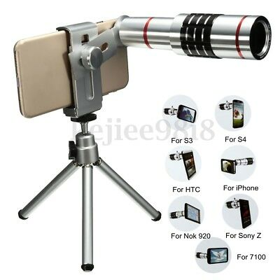 18x Telescope Telephoto Camera Lens Kits with Tripod for Universal Mobile Phone