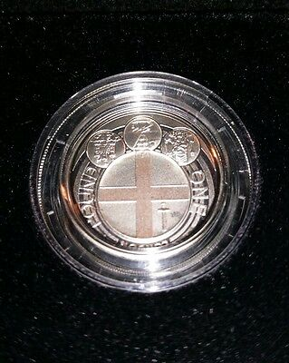 2010 UK London £1.00 Silver Proof Coin