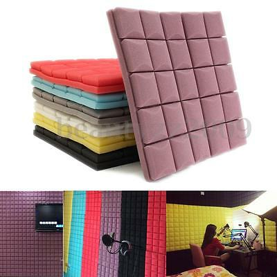Acoustic Studio Music Foam Thicken Soundproofing Absorption Treatment 50x50x5cm