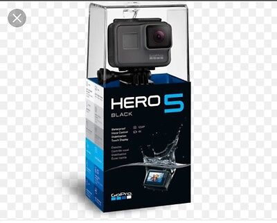 Go Pro Hero Black 5 4K Brand New Touch Display Camera Underwater Sports