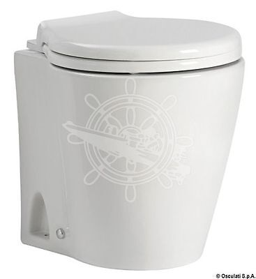 Osculati Slim Electric Toilet 24 V