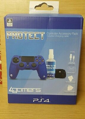 Officially Licensed PROTECT Controller Accessory Pack PS4 Playstation 4 NEW